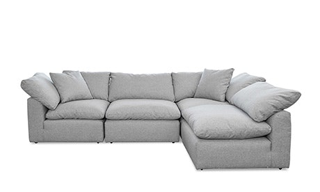 Bronx U-Sofa Bumper Sectional (5 элементов)