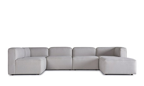 Manhattan Modular U-Sofa Bumper Sectional